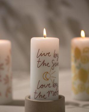Rustik Lys kaarsen